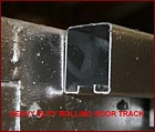 Heavy Duty Rolling Door Track